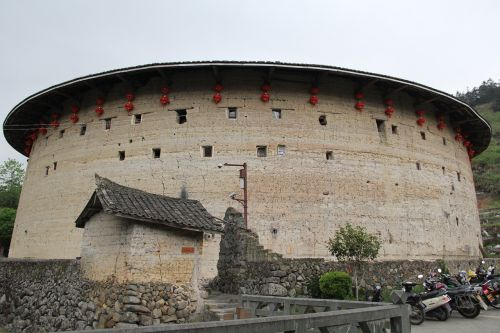 china fujian earth building