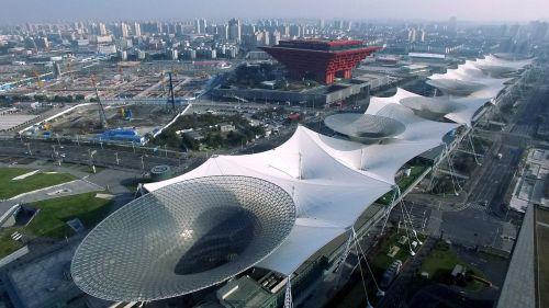 china shanghai expo site