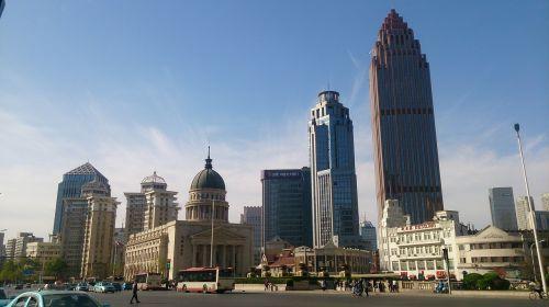 china tianjin tall buildings