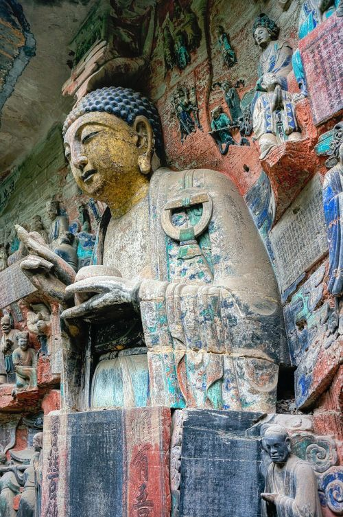 china buddha cave temples to