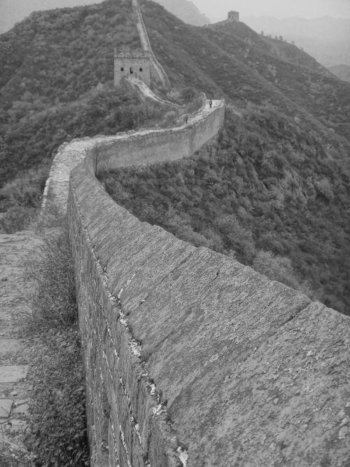 china wall great wall of china