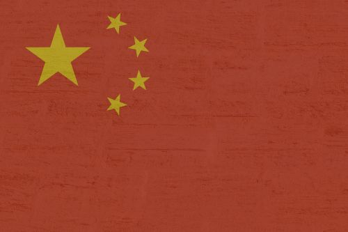 china flag red