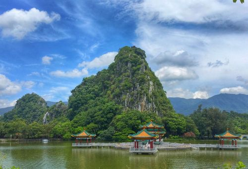 china zhaoqing seven star crags
