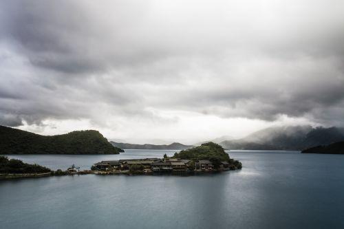 china in yunnan province lugu lake
