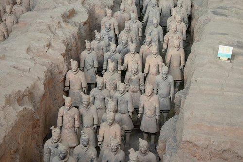 china  xi'an  terracotta