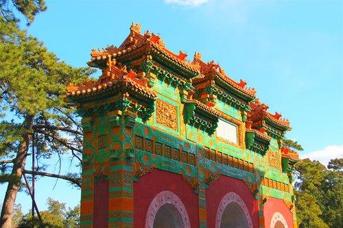 china  tree  chinese ancient architecture