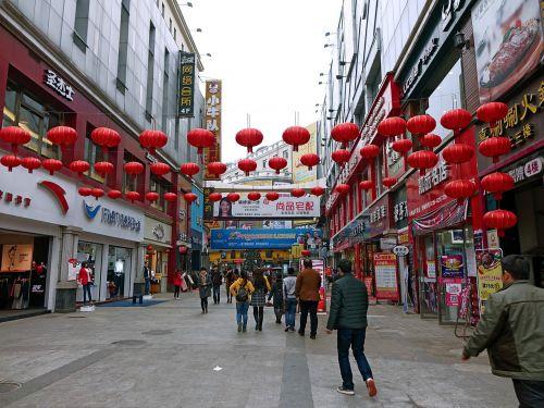 china street lanterns