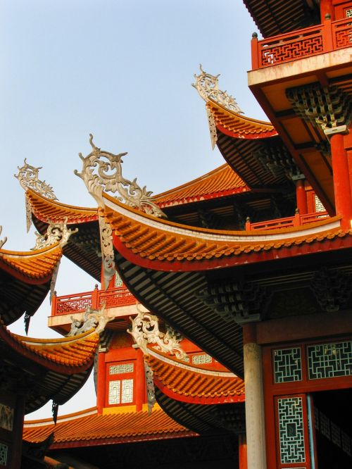 china fuzhou this temple