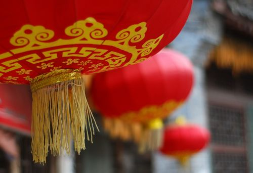 china red lantern festive