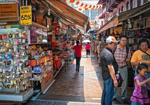 china town singapore market