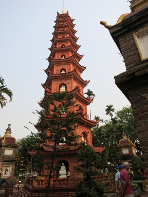 china wind temple tower