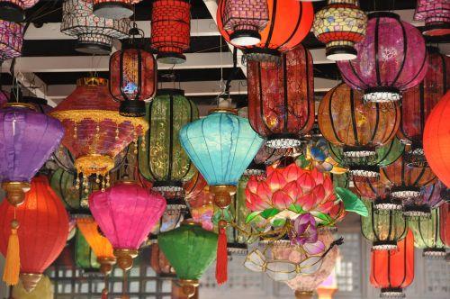 china wind lantern tourism