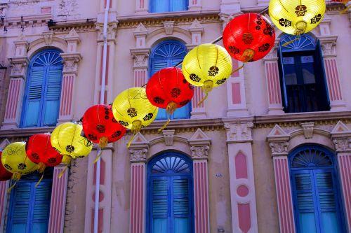 chinatown singapore chinese new year celebration