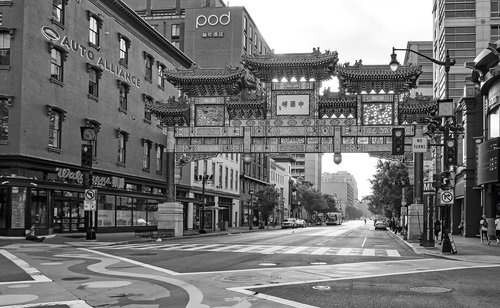 chinatown  district  columbia