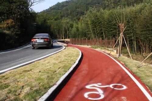 bike path road bike road