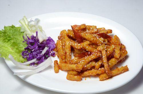 chinese potato cuisine