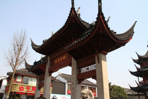 chinese ancient architecture the octagon the seven treasures