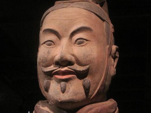 chinese clay warrior replica soldier warrior