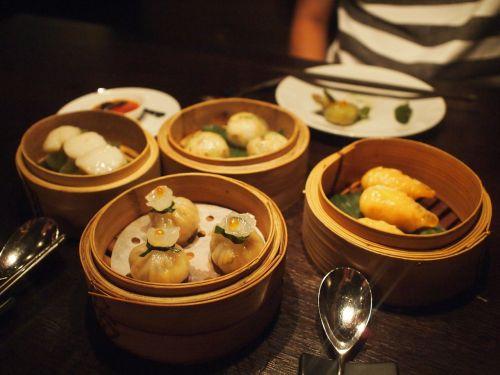 chinese food dumplings chinese