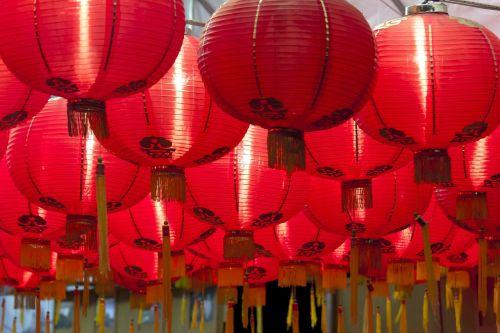 chinese lanterns chinese new year celebrate