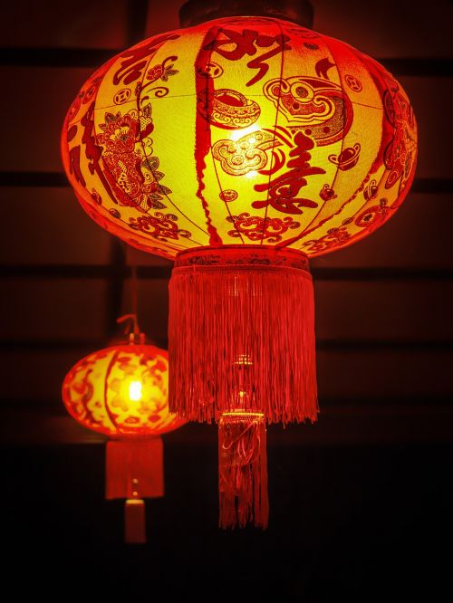chinese new year lantern night