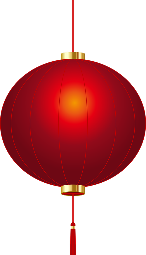 chinese new year  red lantern  celebrate