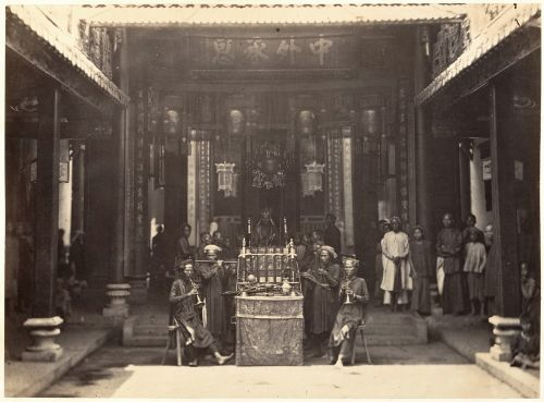 chinese pagoda cholon religious ceremony prayer