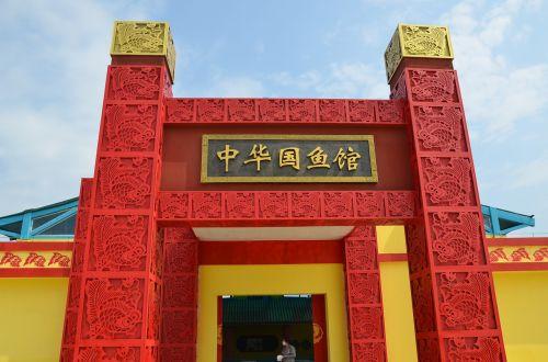 chinese state fish house goldfish arena