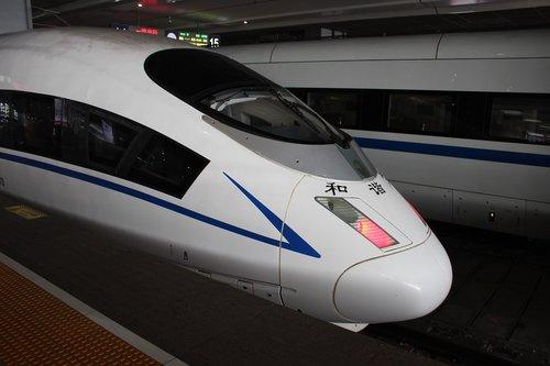 chinese train  shanghai  fast