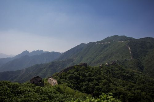 chinese wall famous ancient