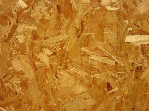 chipboard wood fibers