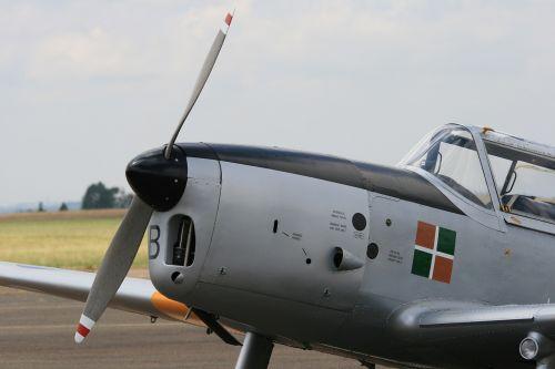chipmunk aircraft silver apron