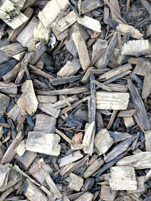 Chipped Wood Mulch Mix
