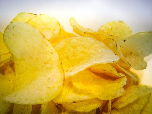 chips snack fast food