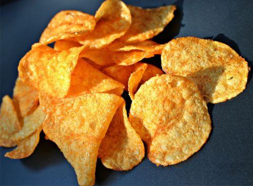 chips potato chips snack