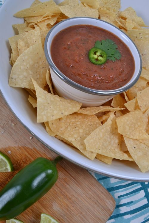 chips and salsa mexican food