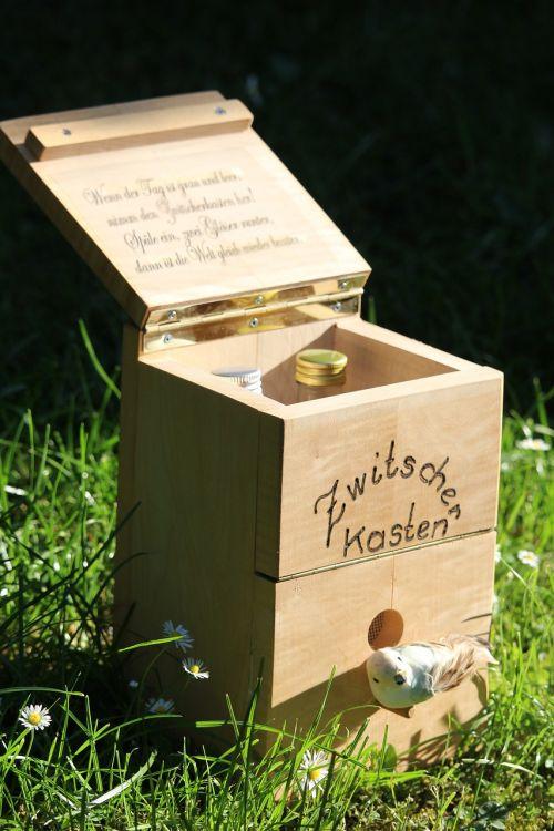 chirping box aviary wood