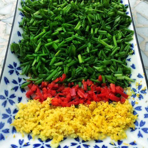 chives chili lemon