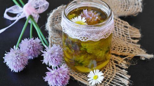 chives oil schnittlauchöl