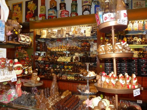 chocolate belgium city