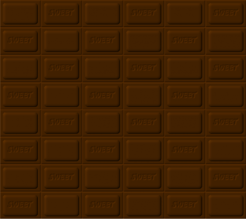 chocolate bar of chocolate the background