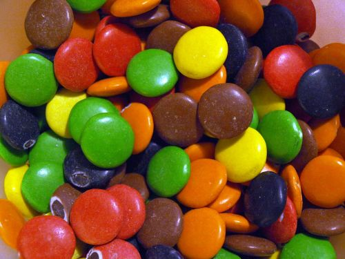 chocolate candy colorful