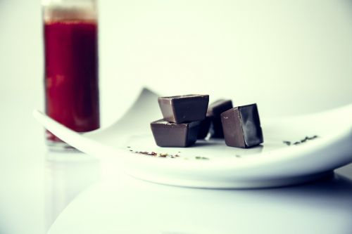 chocolate plate chili