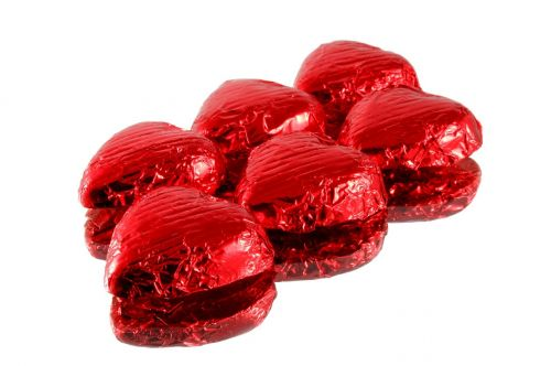 chocolate candy wrapped