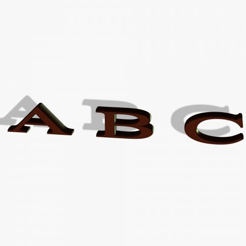 Chocolate ABC