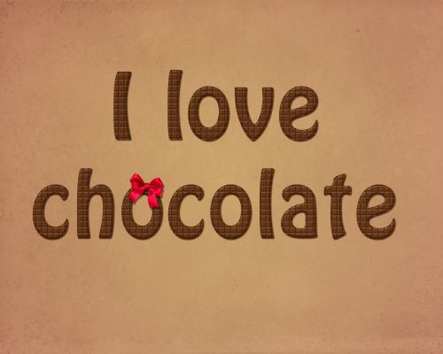 Chocolate Bar Texture Love