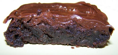 chocolate brownie cake food