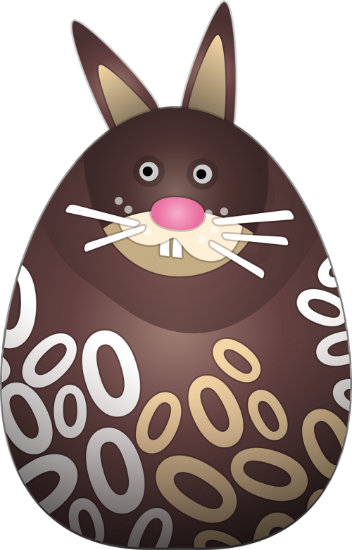 chocolate bunny pääsiäspupu easter