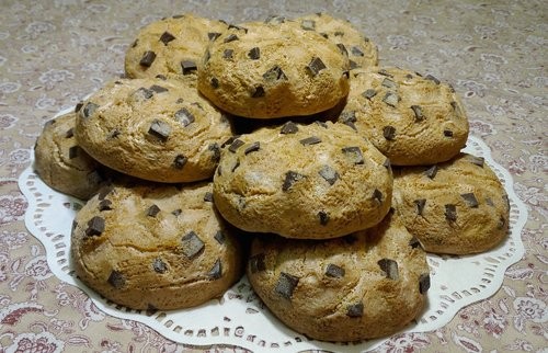 chocolate chunk cookies  soap cookies  soap sclupture