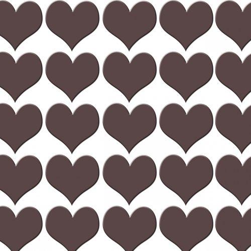 Chocolate Heart Background